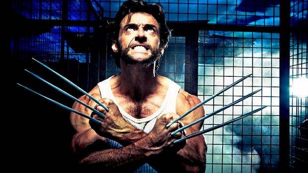 Hugh Jackman as Wolverine.