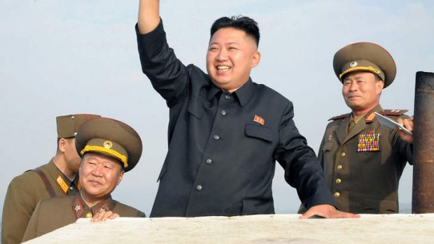 """Man of the year"" ... Kim Jong-un."