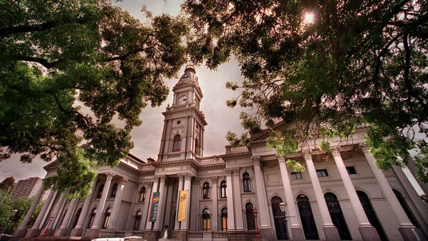 Fitzroy Town Hall.