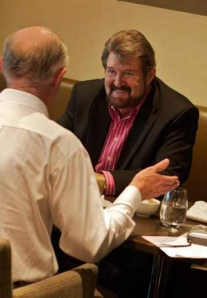 'Every time I eat out, I brace myself for Twitter to start off again,' says  Derryn Hinch.