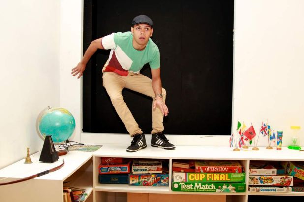 Actor Meyne Wyatt is starring as Peter Pan in a new adaptaton by the Belvoir St Theatre.