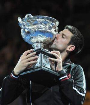 Australian Open 2012 champion Novak Djokovic.