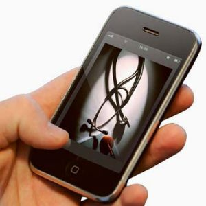 Appy days ... smartphone users are turning to apps for faster medical service.