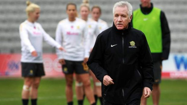 Outgoing Matildas coach Tom Sermanni.