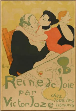 Henri de Toulouse-Lautrec's <i> Queen of pleasure [Reine de joie] </i>1892.