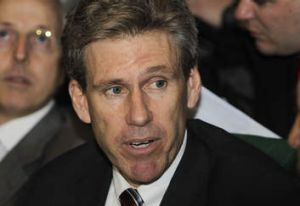 Casualty … US ambassador Chris Stevens was killed in the attack.