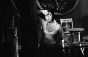 Lisa Della Casa as Lucille in <i>Danton's Death</i>, an opera by Georg Buechner, in 1967.   (AFP PHOTO / Wiener ...