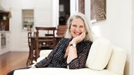 Portrait of Susan Wyndham at her home in Paddington. Friday 2nd November 2012. Photograph by James Brickwood. SMH GOOD ...