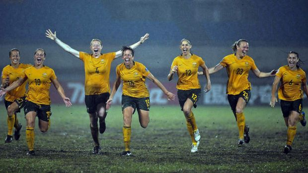 Confusing ... the Matildas' request for a male coach.