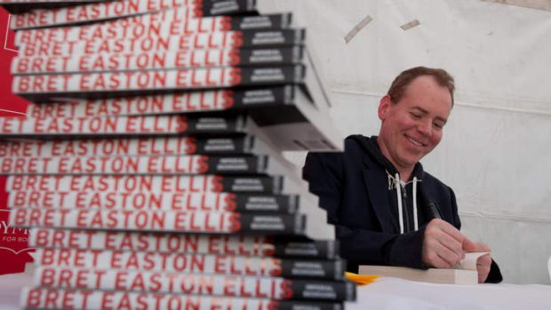 Author Bret Easton Ellis.