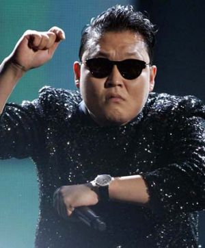 Gangnam … Psy is all style.
