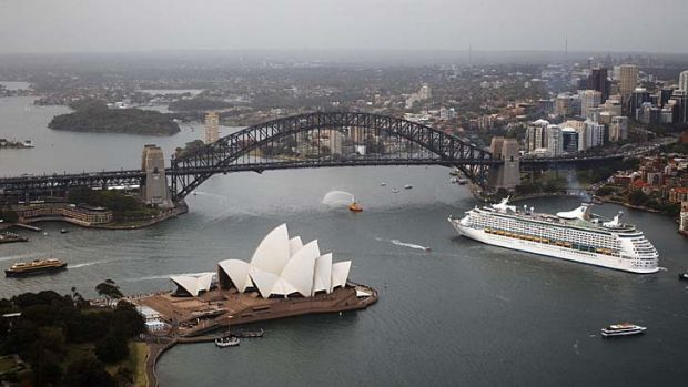 """[The heliport] will be a blight on Sydney's most beautiful asset, Sydney Harbour"" ... Jilly Gibson, North Sydney mayor."