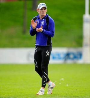 North Melbourne's Jack Ziebell.