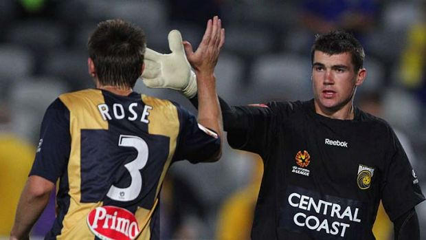 Safe hands ... Mat Ryan is likely to receive plenty of offers from overseas clubs next month.