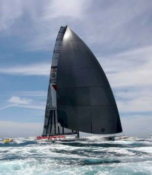 Time ... skipper Mark Richards is hoping for big things from Wild Oats XI.