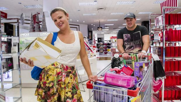 But many Canberrans were still out getting some last-minute Christmas shopping in the old-fashioned way.