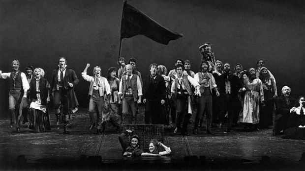 Dreaming a dream ... <i>Les Miserables</i> at the Theatre Royal.