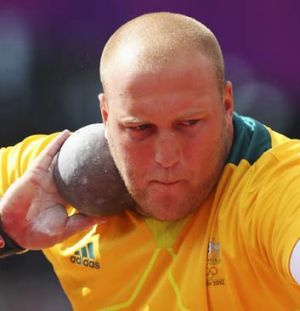 Adventure ... Olympic shot putter Dale Stevenson.