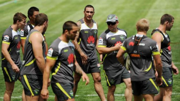 Mounties second-rower Scott Jones has been training with the Raiders throughout pre-season.