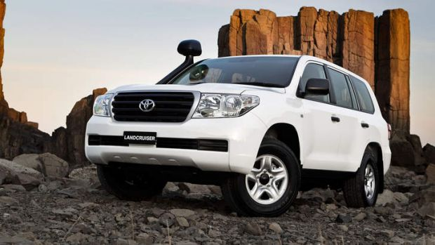 The suspect is alleged to have stolen two Toyota Landcruisers.