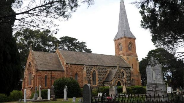 The St John the Baptist Anglican Church in Reid.