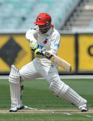 Been there, liked it ... Phillip Hughes at the MCG.