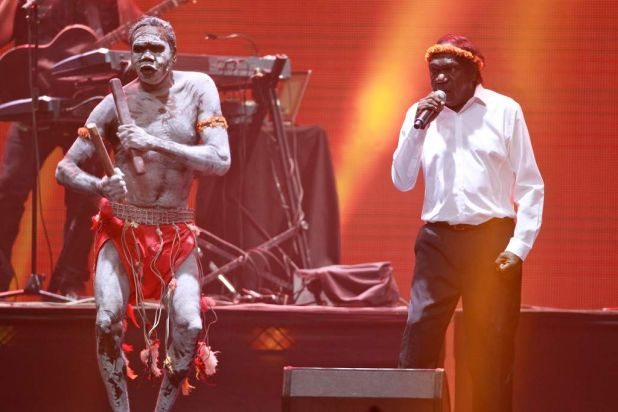 Yothu Yindi at the ARIAS.