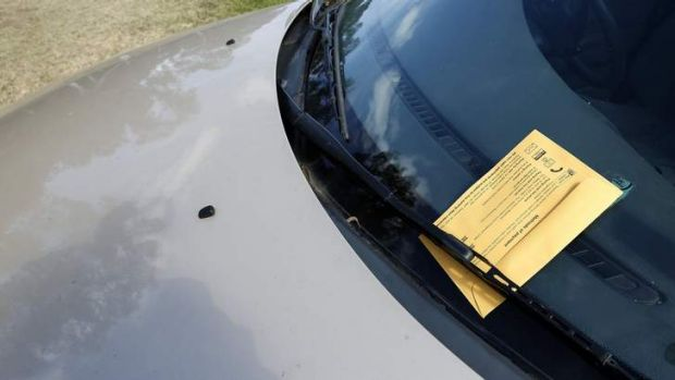 Do you have any tips to avoid getting one of these yellow envelopes under your windscreen wiper?