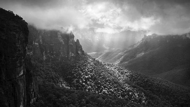 On display ... <i>Valley of the Grose</i> by Andrew Merry.
