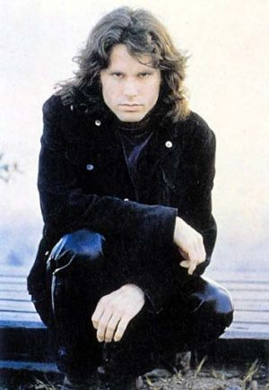 The end … Jim Morrison.
