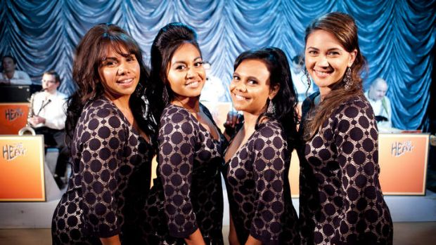 The Sapphires ... Deborah Mailman, Jessica Mauboy, Miranda Tapsell and Shari Sebbens showed a lot of heart as the ...