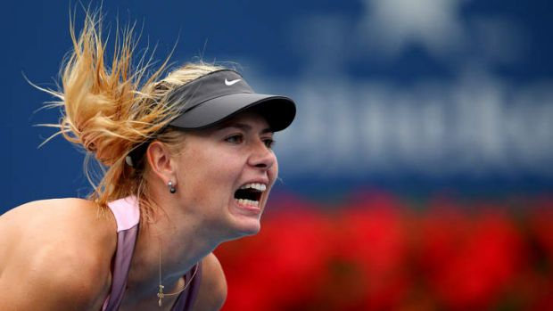 Maria Sharapova has sustained a neck injury and has been ordered to rest.