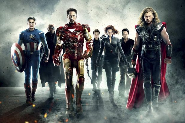 Flim: 'The Avengers' relied on a familiar twist.