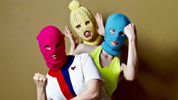 They fought the law ... Pussy Riot are wary of their celebrity status.