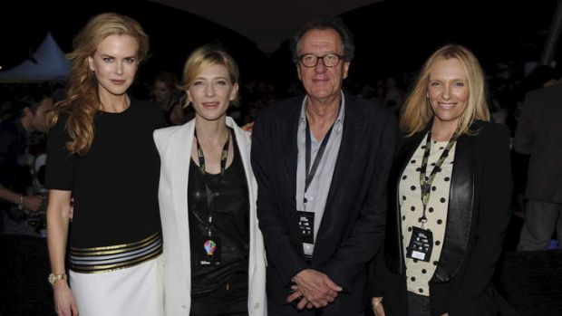 Nicole Kidman, Cate Blanchett, Geoffrey Rush and Toni Collette.