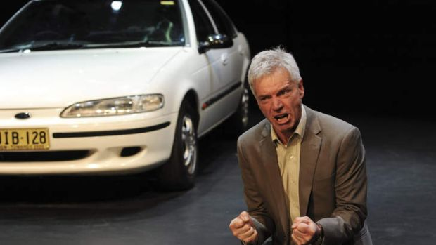 Rebirth of a salesman ... Colin Friels impressed as Willy Loman.
