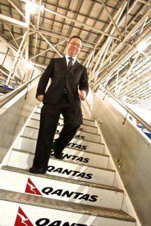 Spring in his step ... with the Emirates alliance in the bag, Alan Joyce now needs to work on Qantas's strategy for Asia.