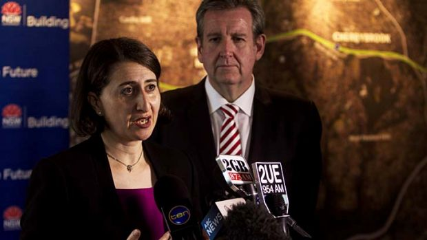 Facing the questions ... Gladys Berejiklian will spent the first half of 2013 responding to angry residents.