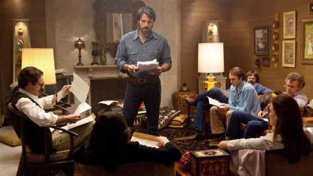 Ben Affleck in his directorial debut <i>Argo</i> one of the hits of 2012.