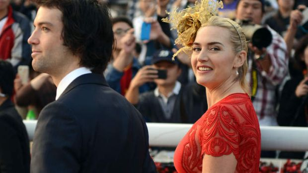 Secret wedding ... Kate Winslet and Ned RocknRoll.