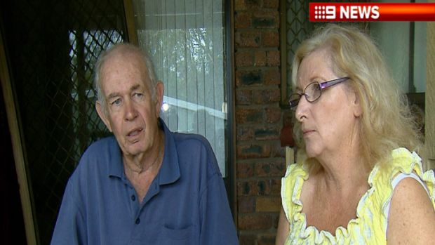 Brian and Lorene Butler's home was burgled twice on Christmas Day and Boxing Day.