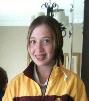 Missing teenager Paris Burrill.