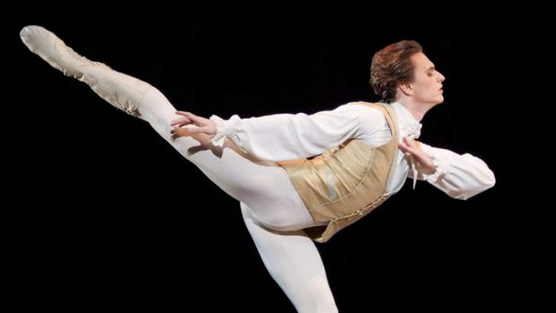 Ukrainian dancer Sergei Polunin dances in the Royal Ballet production of Sleeping Beauty by Tchaikovsky in 2011 at the ...