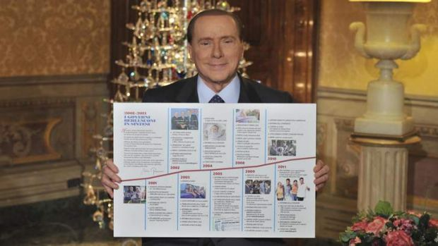 "Silvio Berlusconi's decision to contest forthcoming elections was described by one European newspaper as the ""return of ..."