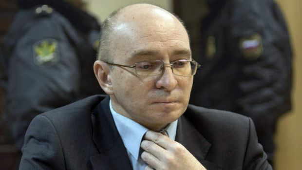 In the clear ... Dmitry Kratov, in the Moscow courtroom on Friday, was deputy chief physician in the Butyrskaya prison ...