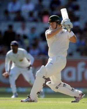 Frustrated: Shane Watson may call it a day with the ball but hold on to his bat.