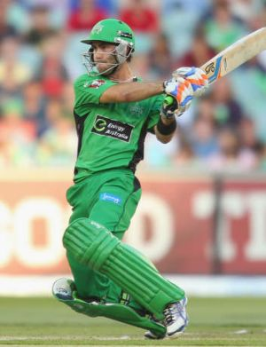 Glenn Maxwell: 'Great faith' in his ability.