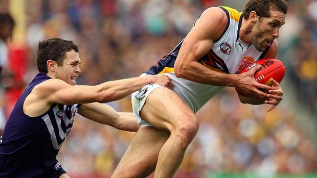 Darren Glass will lead the West Coast Eagles for at least another season.