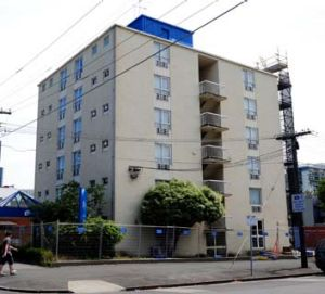 The old bizMotel, new site of Nine's <i>The Block</i>.