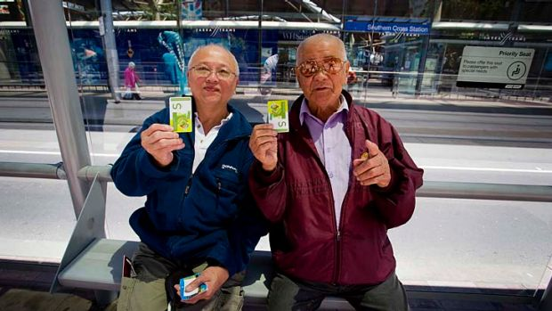 Suan Meng Joon gave myki the thumbs up, but friend Kim Yeoh was not impressed.